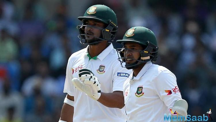 Bangladesh had to play 35 overs and ended up losing three wickets.