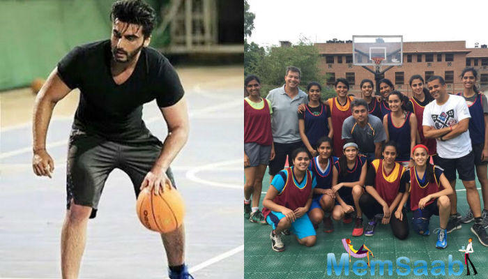 We earlier reported how Arjun and Shraddha practiced basketball and spent hours in the field to take it correctly.