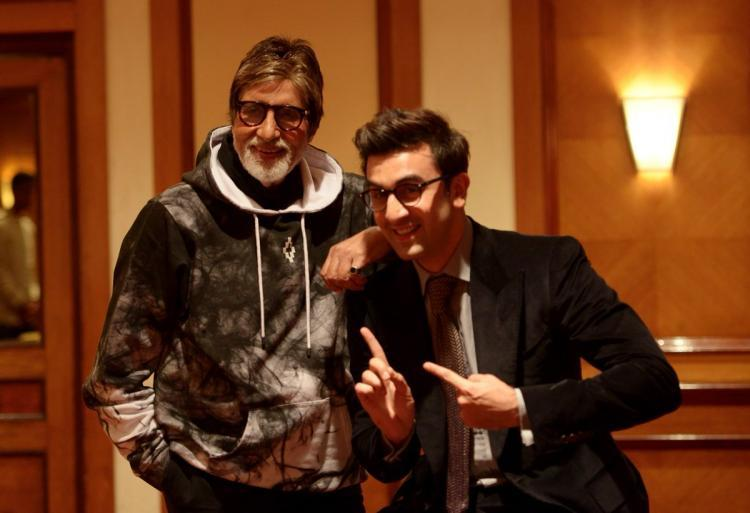 This is the first time, Big B will be seen sharing screen space with the young actors Ranbir.