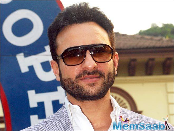 These days, Saif Ali Khan busy with the promotion of his upcoming flick Rangoon