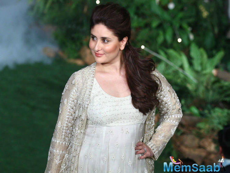 Actresses are often under scanner for their weight gain post pregnancy and Kareena too was talked about on the social media and called overweight post delivery of her son in December last year.