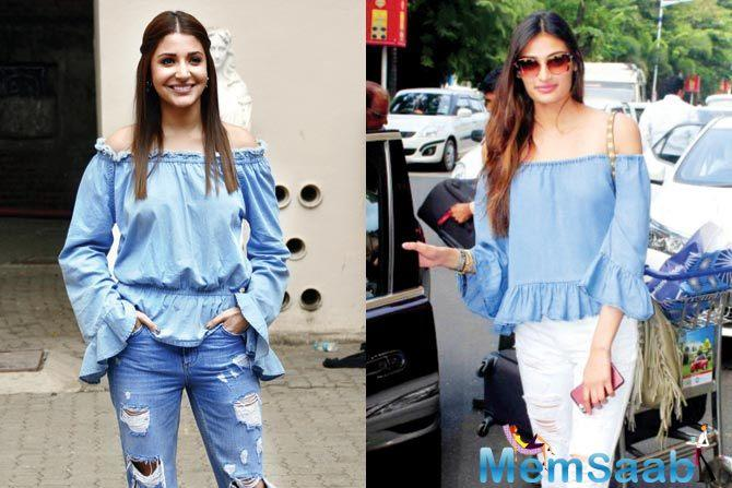HERO fame Athiya Shetty said she looks up to Alia Bhatt and Anushka Sharma as inspirations.