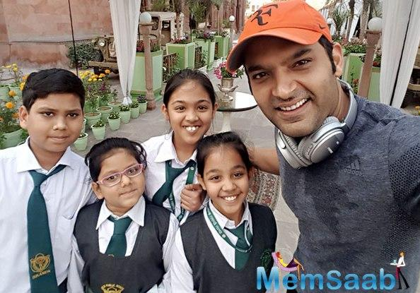 Ace Comedian-actor Kapil Sharma, who has ventured into production with Firangi, has wrapped up the first schedule for the film in Bikaner.