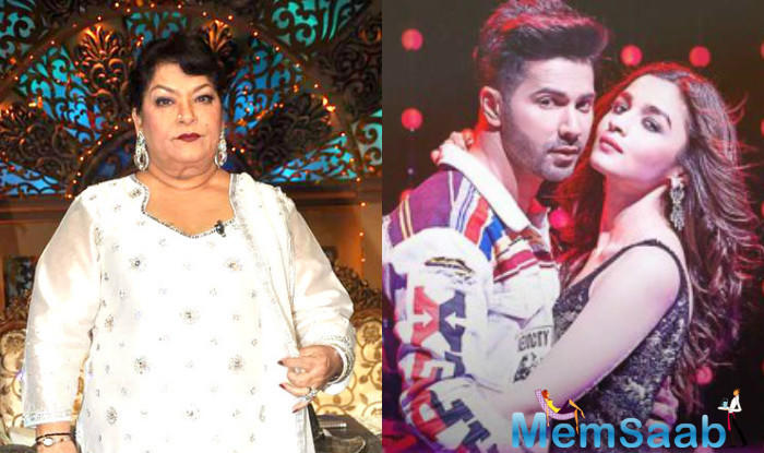 Ace choreographer Saroj Khan, who was the mastermind behind the original 'Tamma Tamma', seems to be a little miffed with 'Tamma Tamma Again'.
