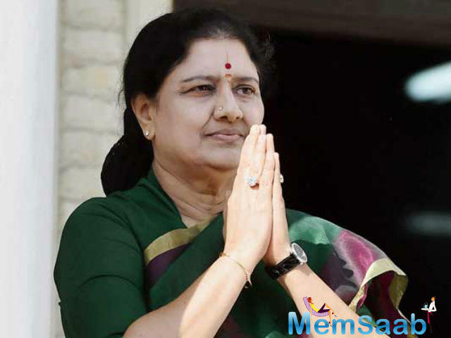 Sasikala is brief political glory was sharply reduced by the four-year prison sentence she is now serving for corruption.
