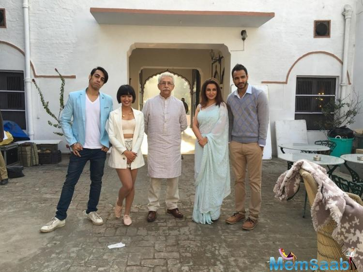 She is all set to next be seen in the movie called 'Hungry' alongside veteran actor Naseeruddin Shah and Tisca Chopra.