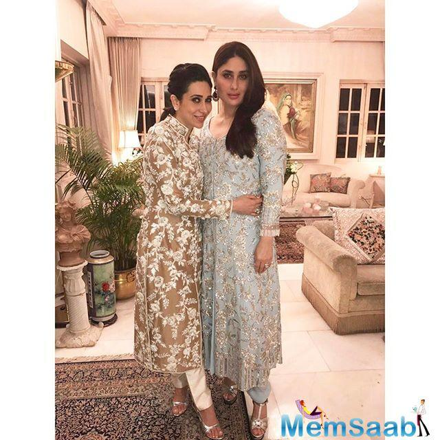 Every night is party night at the Kapoors, last night Ranbir, Saif, Kareena and Karisma spotted at uncle  Shashi Kapoor's house for dinner.