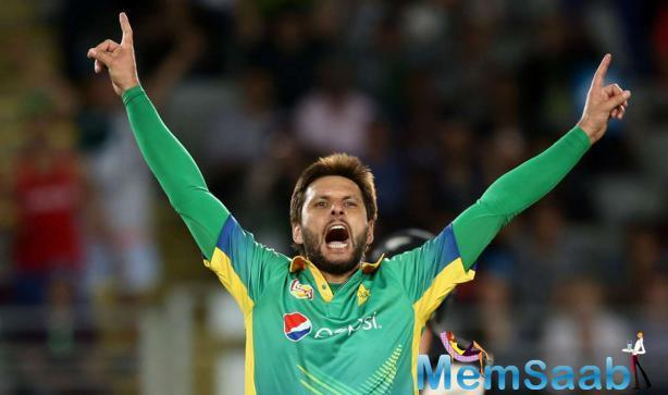 Having made his debut in 1996, Afridi has amassed 10,645 runs and picked up 540 wickets in 523 international matches.