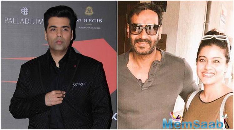 Karan Johar and Kajol are no longer friends is not news any longer.