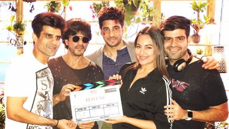 Reportedly, Ittefaq, a murder mystery is co-produced by Shah Rukh's Red Chillies Entertainment, Karan Johar's Dharma Production and BR Films.