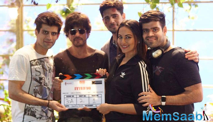 Sonakshi and Sidharth's upcoming film Ittefaq went on floors on Monday.