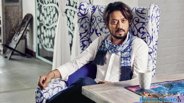 Irrfan Khan has let go of the first look of his film 'No Bed of Roses' (or 'Doob'), which has been which has been banned in Bangladesh.
