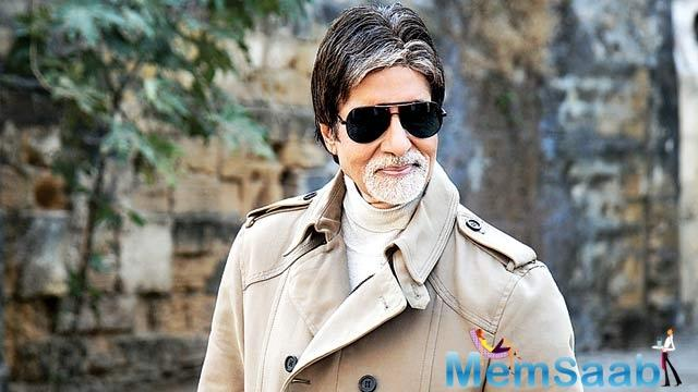 If sources to be believed, unfortunately, Big B has declined the offer.