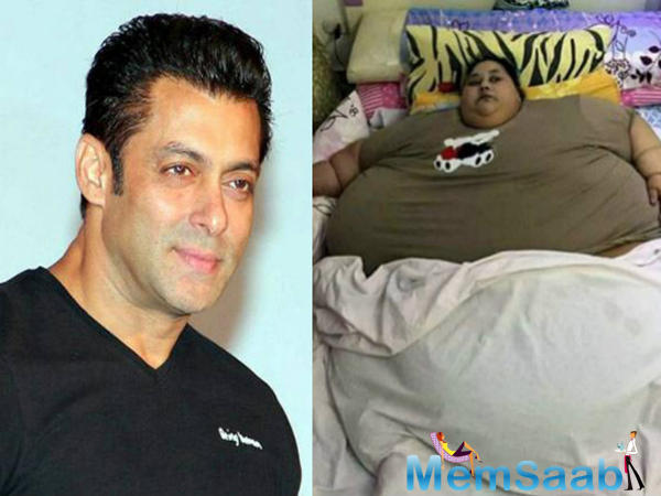 Talking about the same with Salman's father, Salim Khan, he said that his son would surely meet the lady, but they haven't received any offficial request from the hospital authorities yet.