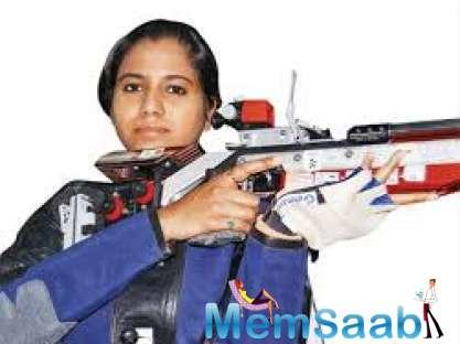 It was the 27-year old Pooja's first ever World Cup medal.