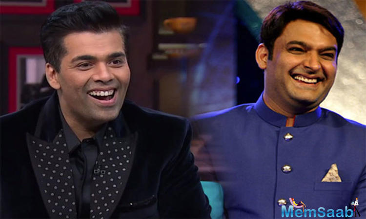 However, a source says, Kapil Sharma to be the last guest on 'Koffee With Karan 5'