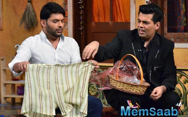 It was today that the reports of a tiff between Karan Johar and Kapil Sharma came to highlight.