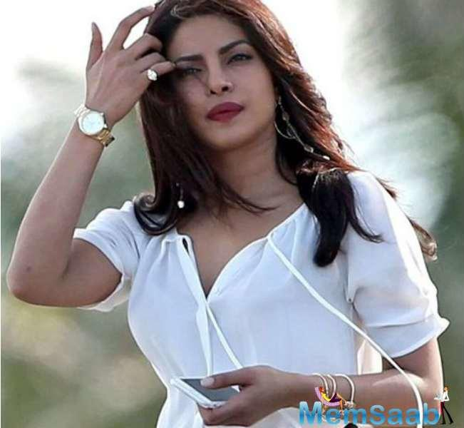 On the work front, Priyanka is all set to make her big Hollywood debut with 'Baywatch'.