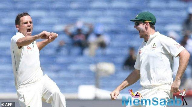 India managed to snare some early Aussie wickets before stumps on Day 2 but skipper Steve Smith struck a gritty century on Day 3 to guide his team to 285 and set Virat Kohli's men a target of 441.