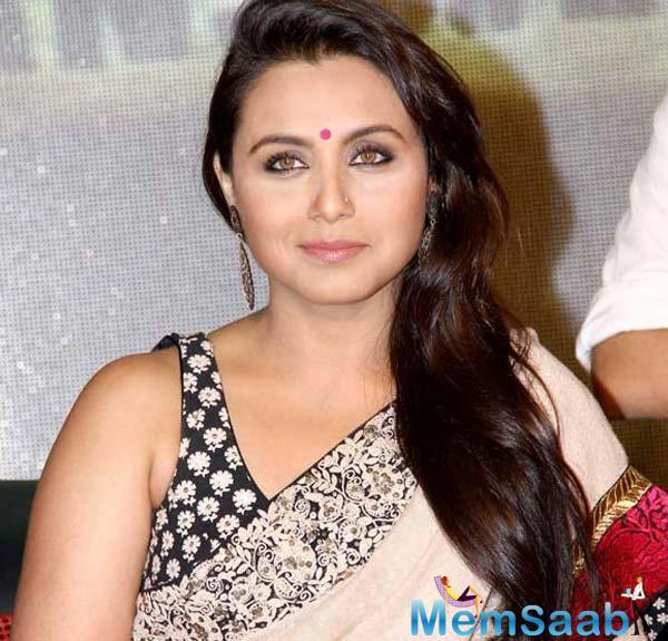 "Further, he said, ""I would love to work with Rani; it's my dream to work with her""."