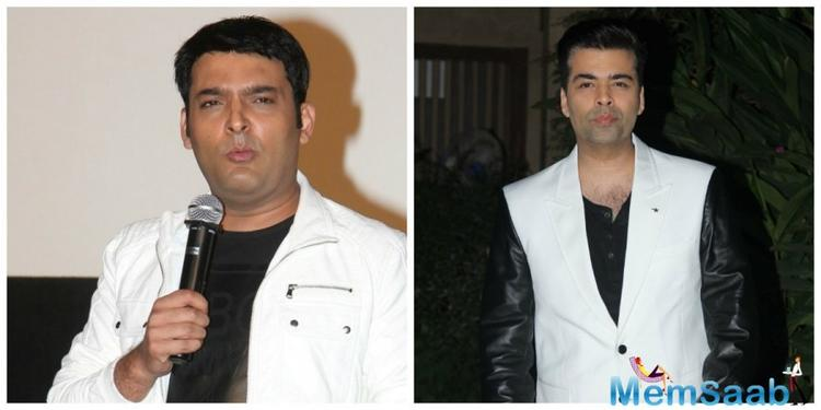 Finally, the comedy King Kapil Sharma is indeed going to grace the couch of Karan Johar's 'Koffee With Karan 5'.