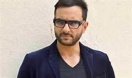 """Saif's character goes by the name of Rileen. """"It's a weird name but then it's a weird script,"""" he said."""