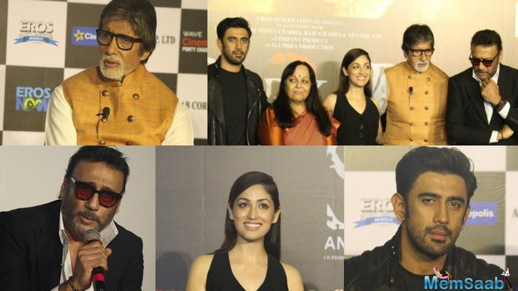 At the trailer launch of this film Varma, asked if Yami Gautam's character is of a vamp.
