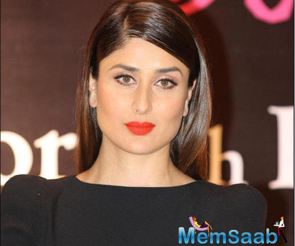 First Kareena was asked, How are you enjoying motherhood?
