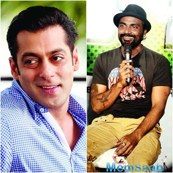 The film's schedule hasn't been fixed yet, but it is likely to go on floors after Sallu completes shooting for 'Tiger Zinda Hai'.