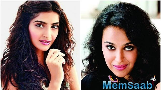 Swara and Sonam are going to share the screen space again in another film titled 'Veere Di Wedding', which also stars Kareena Kapoor Khan.