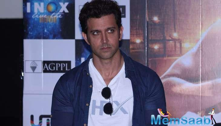 After taking the roles of Rohit in 'Koi Mil Gaya,' Ethan Masceranhas in 'Guzaarish' and Rohan Bhatnagar in 'Kaabil,' Hrithik Roshan may have felt a deeper impact of these roles in his life.