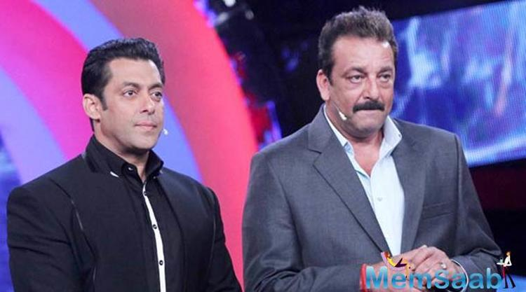 When asked about the same Sanjay Dutt, he says there is nothing wrong between him and superstar Salman Khan.