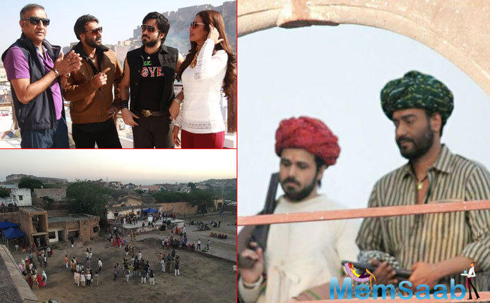 Emraan Hashmi is currently busy shooting for Milan Luthria's 'Baadshaho'.