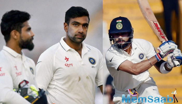 Lokesh Rahul, who scored fifties in both innings of the match has jumped up 23 places to 23rd rank.