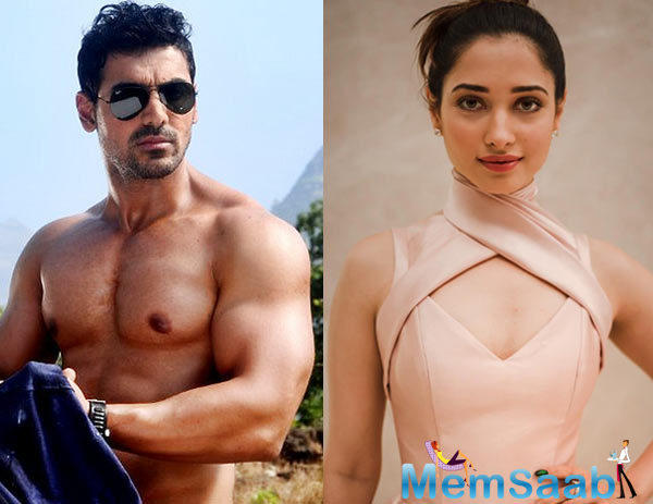 Reportedly, John will play the character of a cop, while Tamannaah will portray the role of an air-hostess, though an official announcement on their character details are still awaited!
