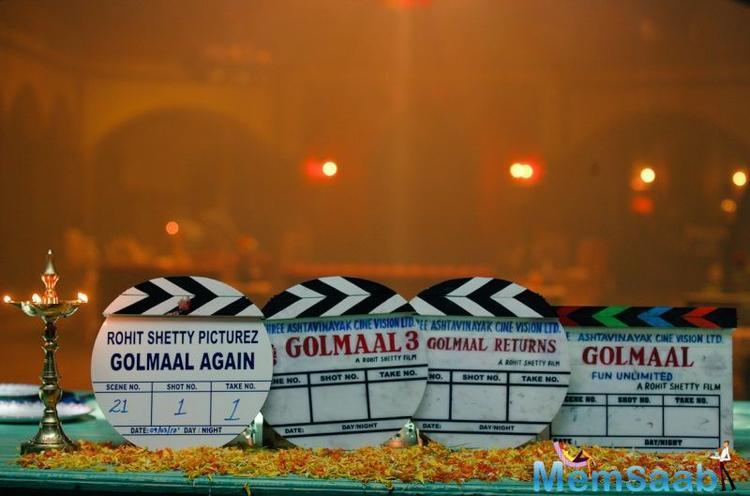 Parineeti Chopra  replaced Kareena Kapoor Khan for the 4th instalment of Golmaal.