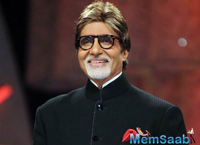 Recently, Amitabh Bachchan attended the launch event of the Ramesh Sippy Academy of Cinema & Entertainment.