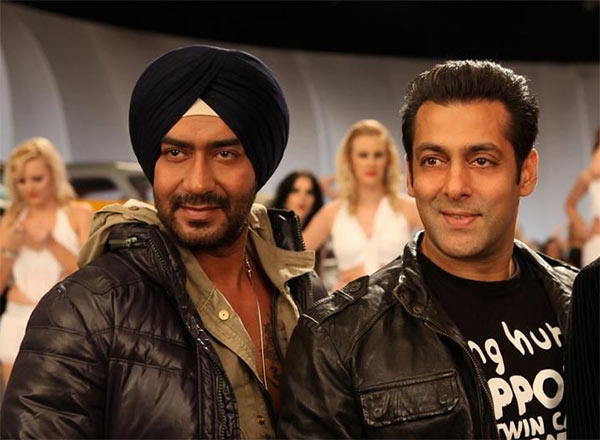 Upon learning about Ajay's plans, the loyal friend that Sallu Bhai is, Khan reportedly backed out of the film in order to avoid any tension with good pal Ajay.