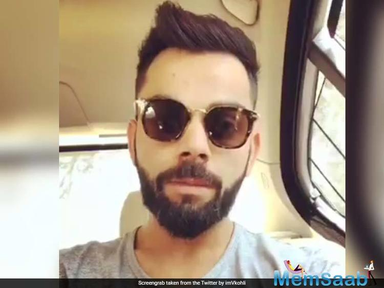 While the entire nation is celebrating Holi with joy and cheerfulness, India skipper Virat Kohli is travelling to Ranchi for the third Test against Australia in Ranchi.