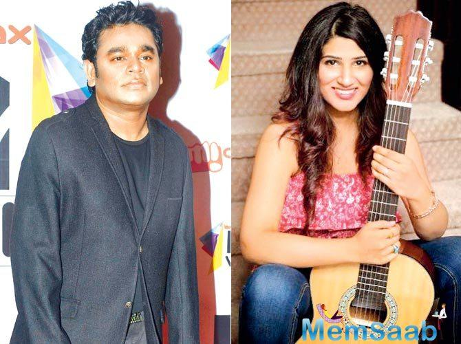 Every young singers wish to work with Grammy + Academy Award Winning Musician AR Rahman.
