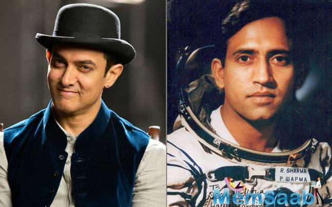 After a film on the life of Mahavir Singh Phogat and his daughters, Geeta and Babita, 'Dangal', there were reports that Aamir Khan will also be seen as Rakesh Sharma on his biopic.
