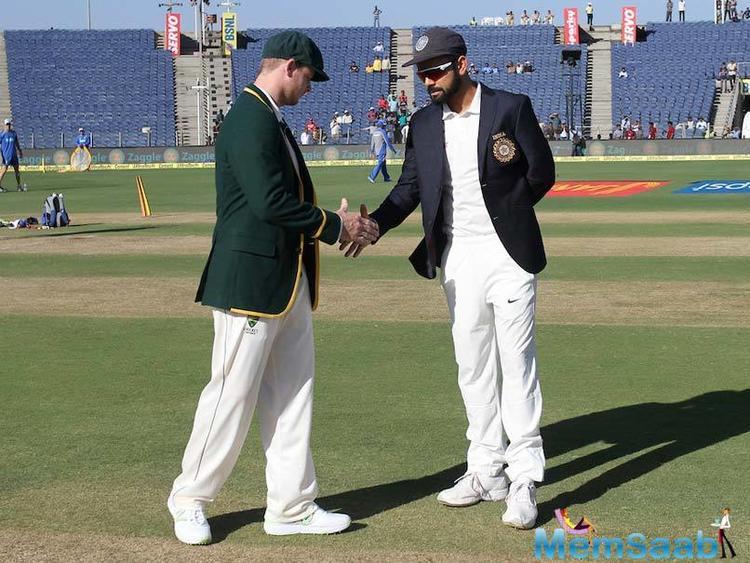 Fantastic knock from the Australian skipper as he and Glenn Maxwell have rebuilt the Australian innings.