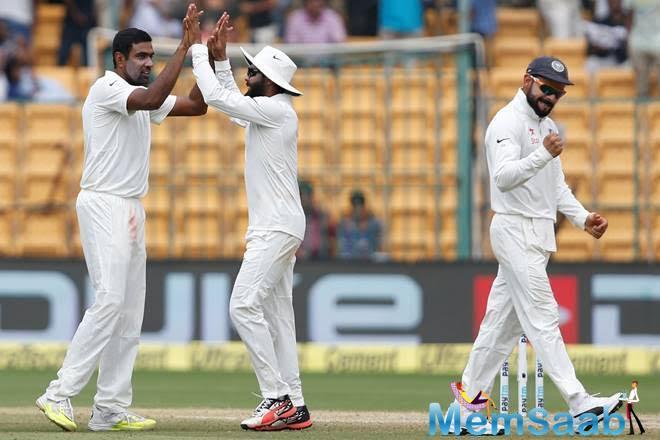 India vs Australia, 3rd Test, Day 1, Australia earned 299 runs losing 4 wickets.