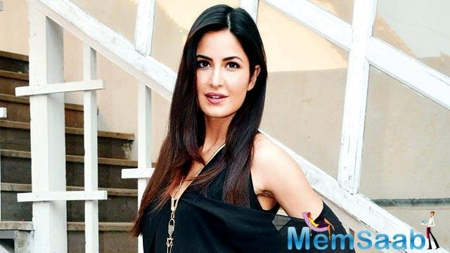A source says Katrina will be seen as an actress in the movie.