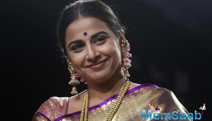 Vidya asked, Everyone seems excited about Begum Jaan and people are calling it your big comeback. How has the response been so far?