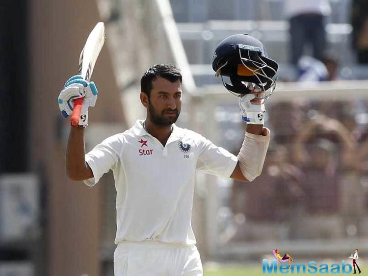 On the day when Ravindra Jadeja topped ICC Test rankings for bowlers, another Saurashtra boy, Cheteshwar Pujara, reached a career-high second rank among batsmen on Tuesday.