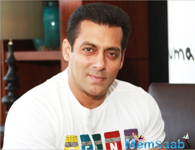 Salman will next be seen in Kabir Khan's 'Tubelight'.