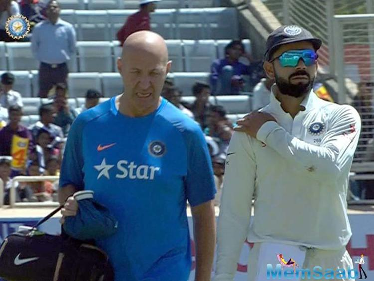 Kohli said he could risk aggravating the injury while fielding, but felt no discomfort while batting.