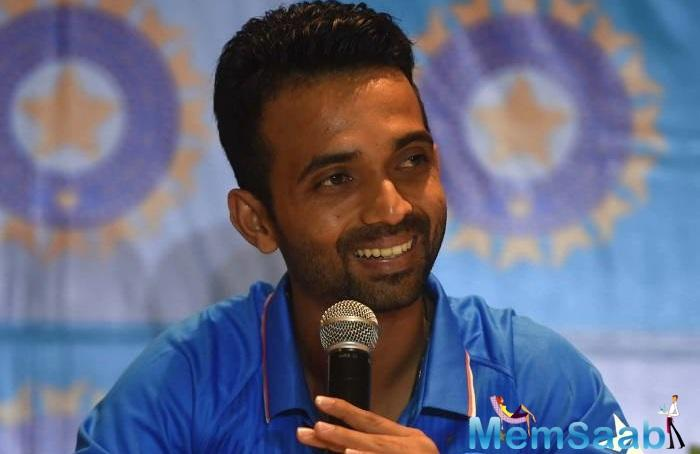 Coming from India's cricketing nursery Mumbai, Rahane joined the league of legends.