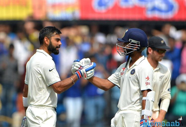 Kohli suffered a shoulder injury while fielding in the Ranchi Test match.